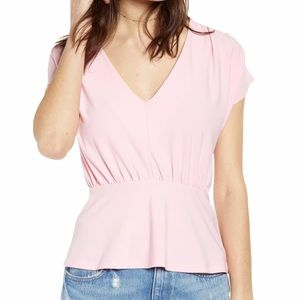 NWT Leith Plus Pink Orchid Blouse 4X
